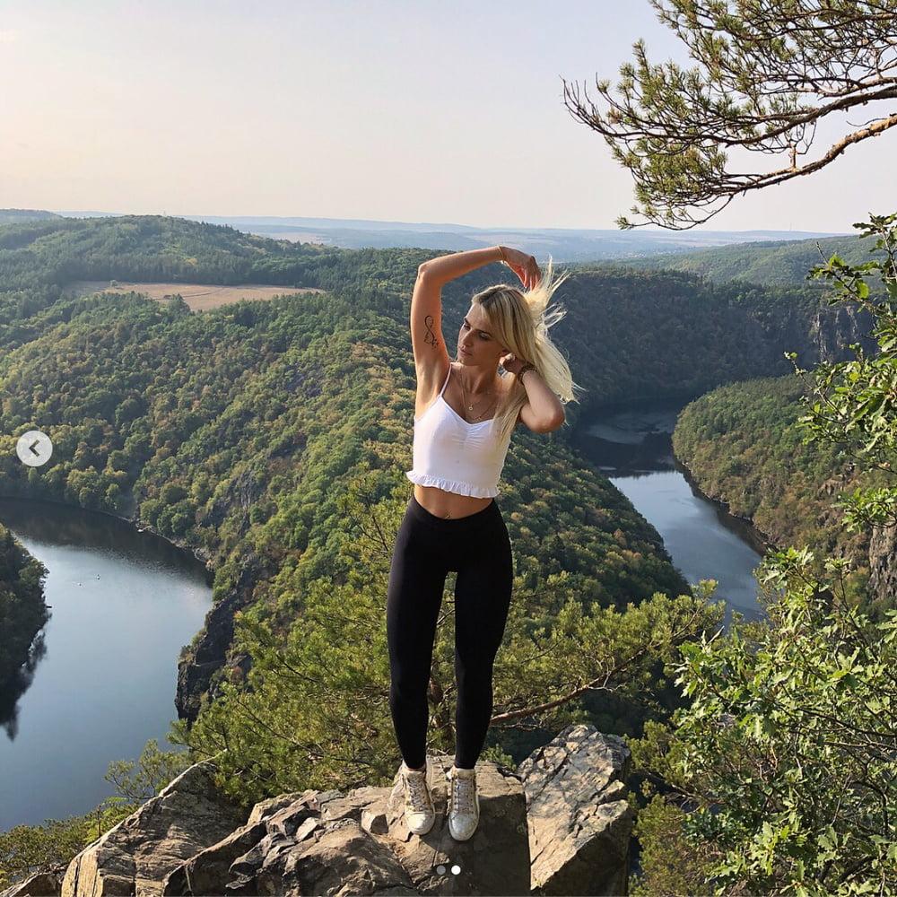 Ilonka Cajankova - sexy czech fitness and freddy wear model